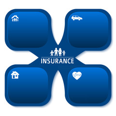 Insurance-infographics-template-brochure-background