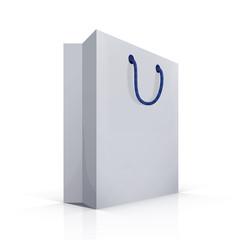 package blank, vector bag