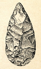 Acheulean hand axe or biface