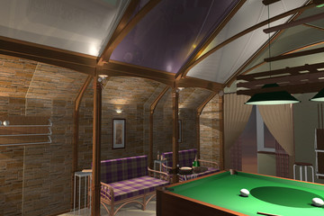 Interior Billiard