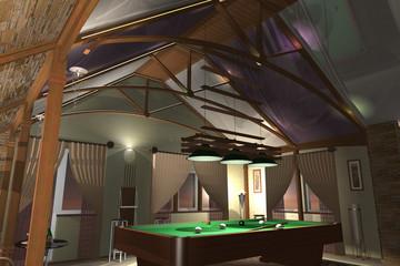 Interior Billiard