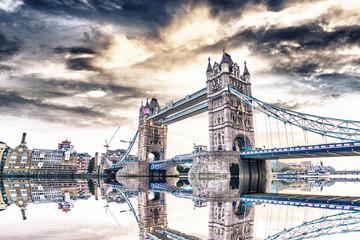 London Bridge at sunset
