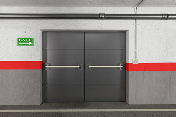 garage exit Wall mural
