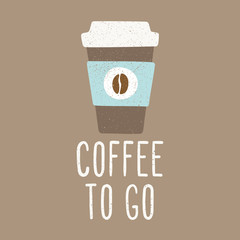 Coffee to go.