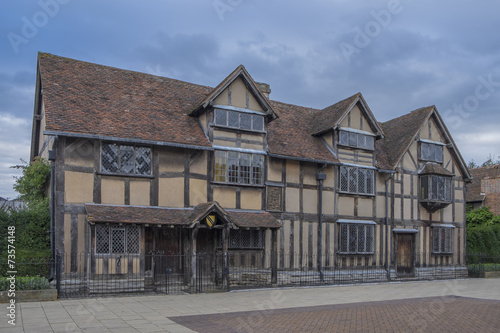 William Shakespeares Birthplace In Stratford Upon Avon