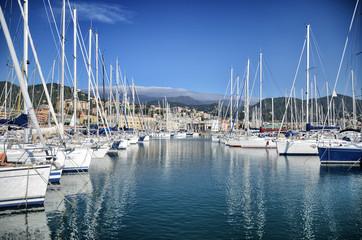 Barche nel Porto di Varazze (Savona)