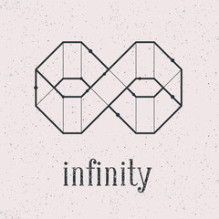 Geometrical infinity. Background is separate and can be used.