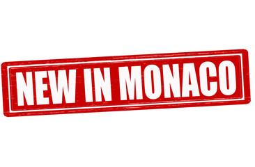 New in Monaco
