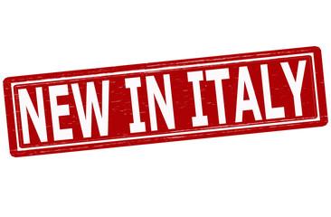 New in Italy