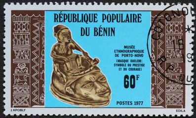 Timbre république du Benin