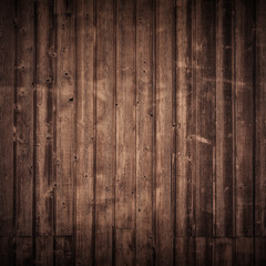 Wooden brown floor panel