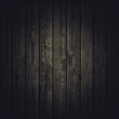 Old wooden dark background