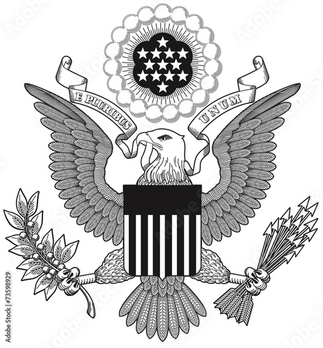 Great Seal Of The United States Stock Image And Royaltyfree - Free united states vector