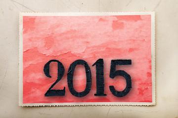 cartolina 2015 vintage