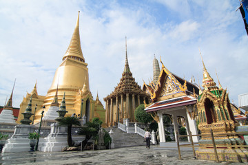 Wall Murals Place of worship Thai temple