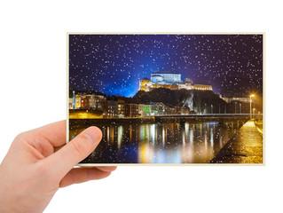 Kufstein Austria photography in hand