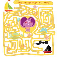 Funny labyrinth 2