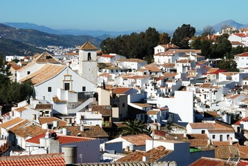 White town, Colmenar, Spain © Arena Photo UK