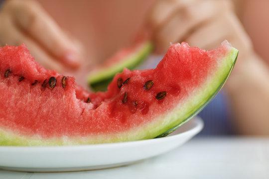 Delicious juicy watermelon