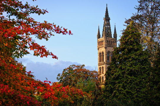 Main building of the University of Glasgow