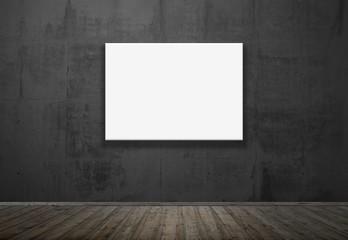 Leeres Bild an der Wand