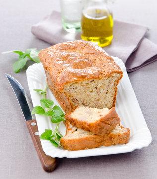 Cake  with tuna