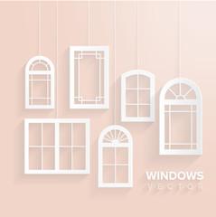 Windows house set