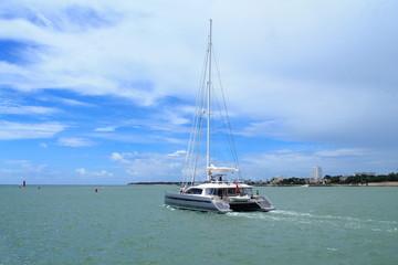 Promenade en catamaran à La Rochelle, France