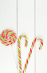christmas lollipop candies