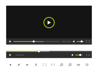 Video Player Template