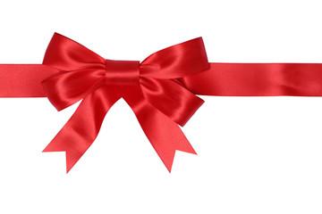 Geschenk Band mit Schleife für Geschenke an Weihnachten oder Va