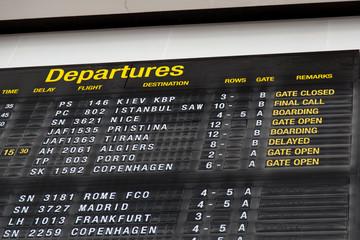 Terminal Info Board - 22