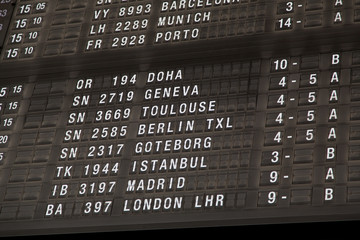 Terminal Info Board - 23