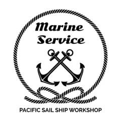 Company Logo Design for Marine Service