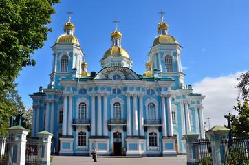 Никольский морской собоор в Санкт-Петербурге