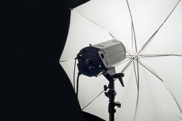 Photography Studio Flash Head with Umbrella
