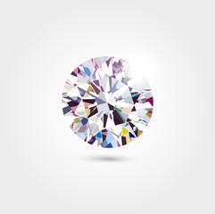 Vector gem background