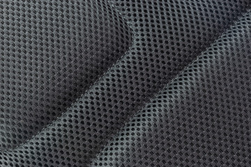 Texture background of polyester fabric