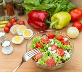 Meal salad