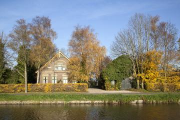 old farm between De Meern and Harmelen in The Netherlands