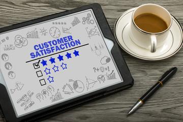 customer satisfaction concept