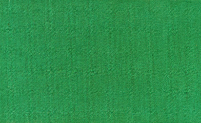 Surface of green fabric