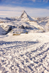 Amazing Matterhorn mountain, Zermatt, Switzerland