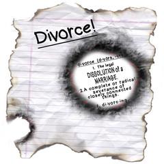 Divorce Definition through Burned Hole