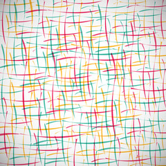 Abstract colored creative lines on the gray background