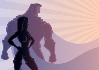Superhero Couple 3
