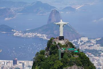 Wall Mural - Aerial view of Rio de Janeiro