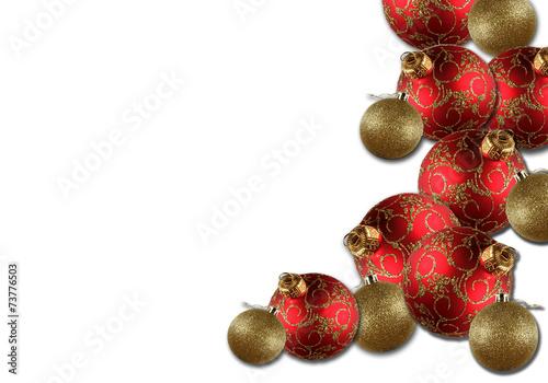 Navidad fondo blanco bolas adornos navide os fotos de - Fotos adornos navidenos ...