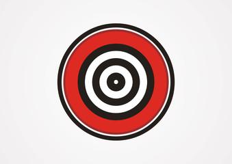 Target icon sport logo vector
