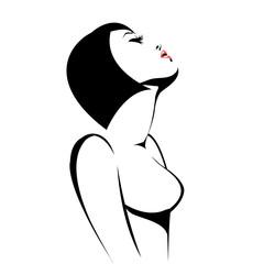 Эротическая девушка